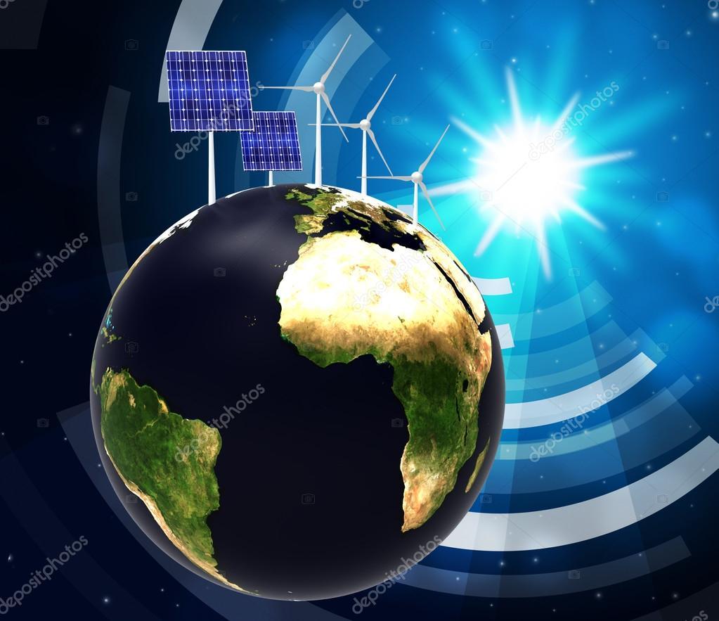 Pannello solare indica energia alternativa e globalizzare for Immagini pannello solare