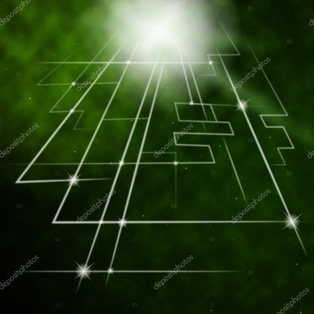 Circuito Significado : Láser circuito fondo significa moda circui eléctrico u2014 foto de stock