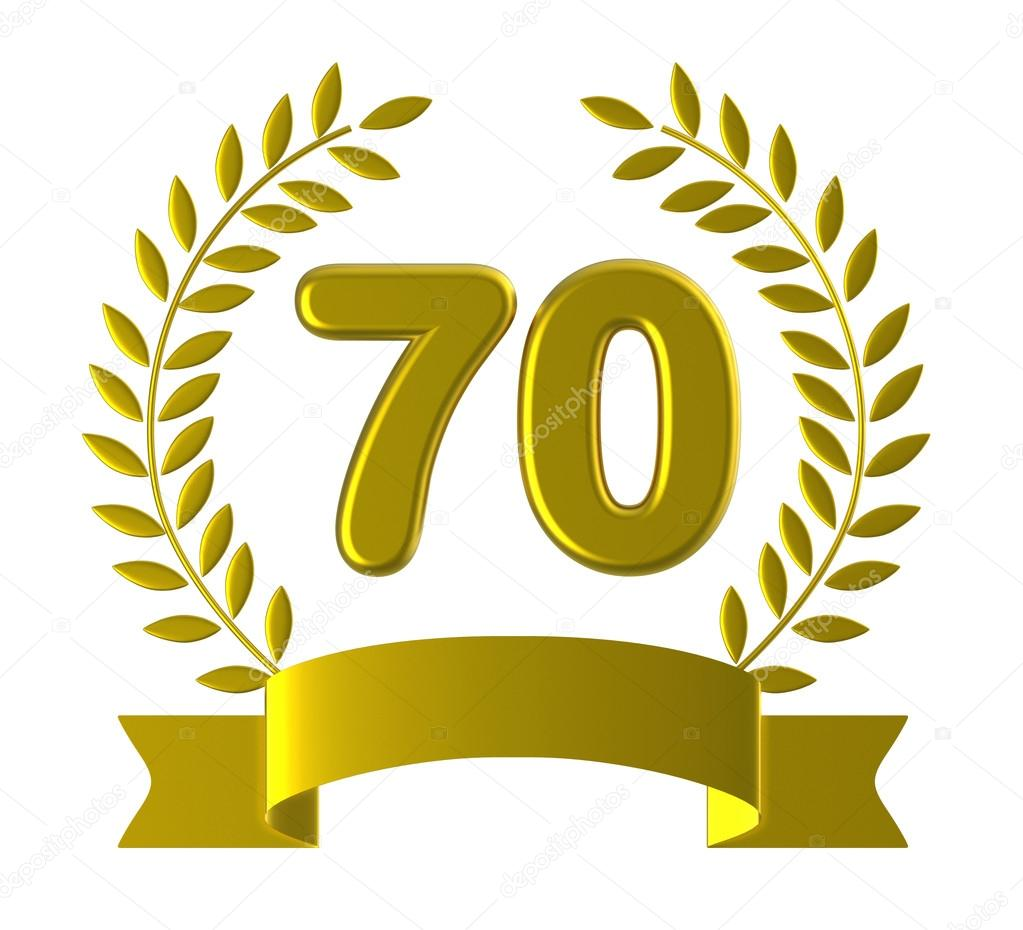 70 º y 70 º cumpleaños significado feliz aniversario - 70 significado —  Foto de stuartmiles — Foto de stuartmiles