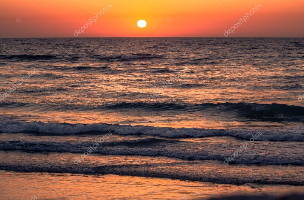 Sunset in Tel-Aviv