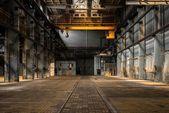 Fotografie Industrielle innere eine alte Fabrik