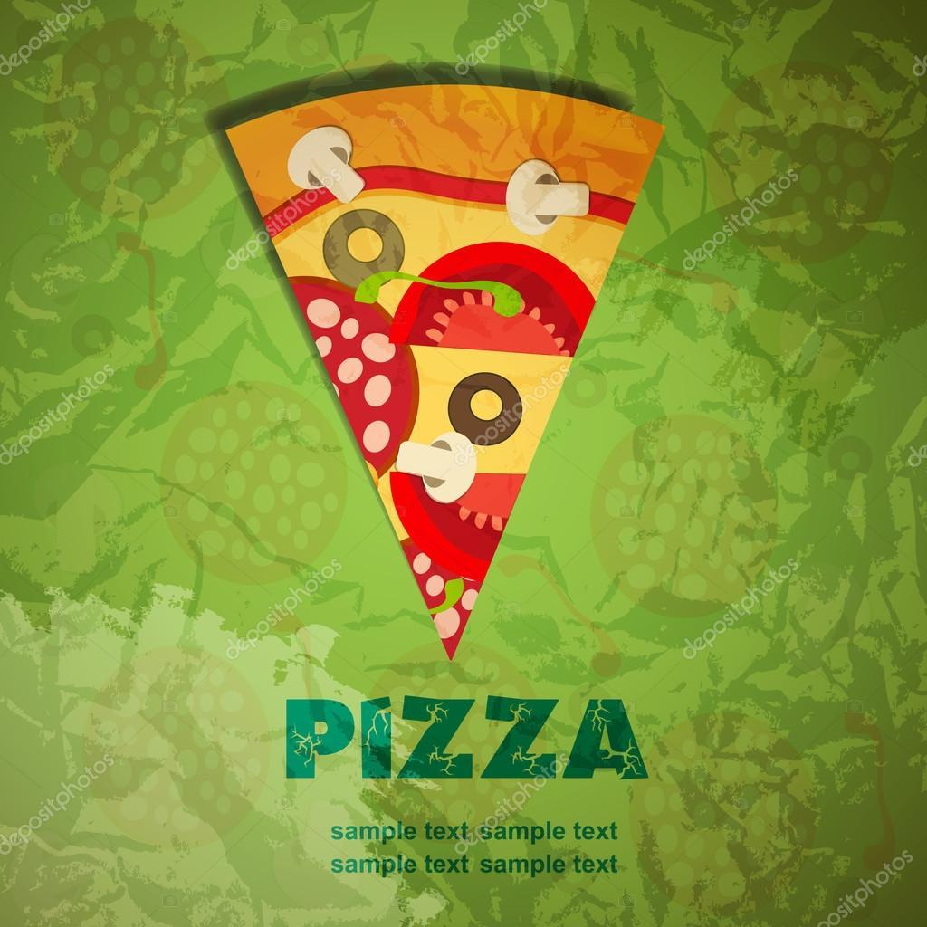 Pizza Menu Template vector illustration Vector Yganko – Sample Pizza Menu Template
