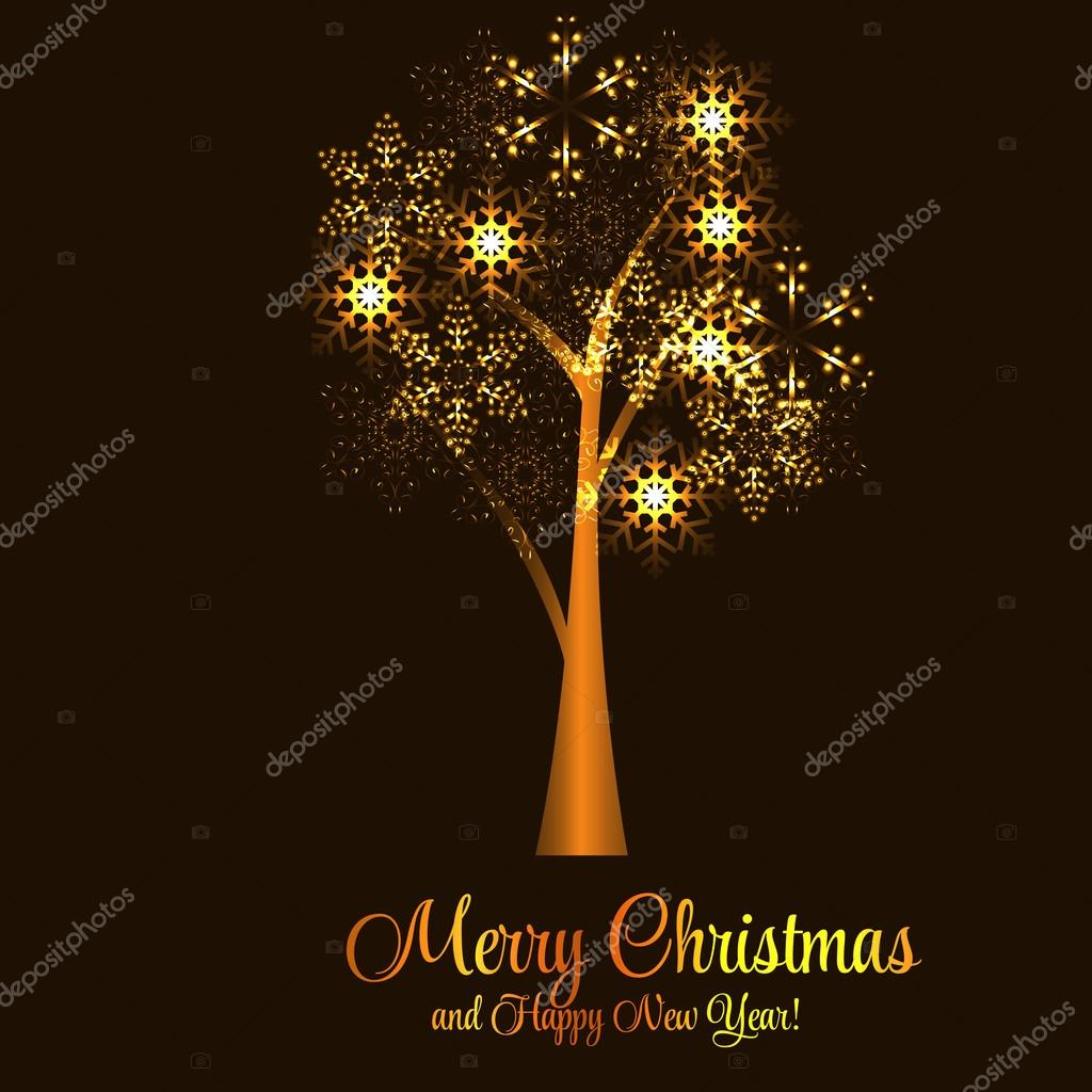 abstract beauty christmas and new year background vector illust stock vector 34274967