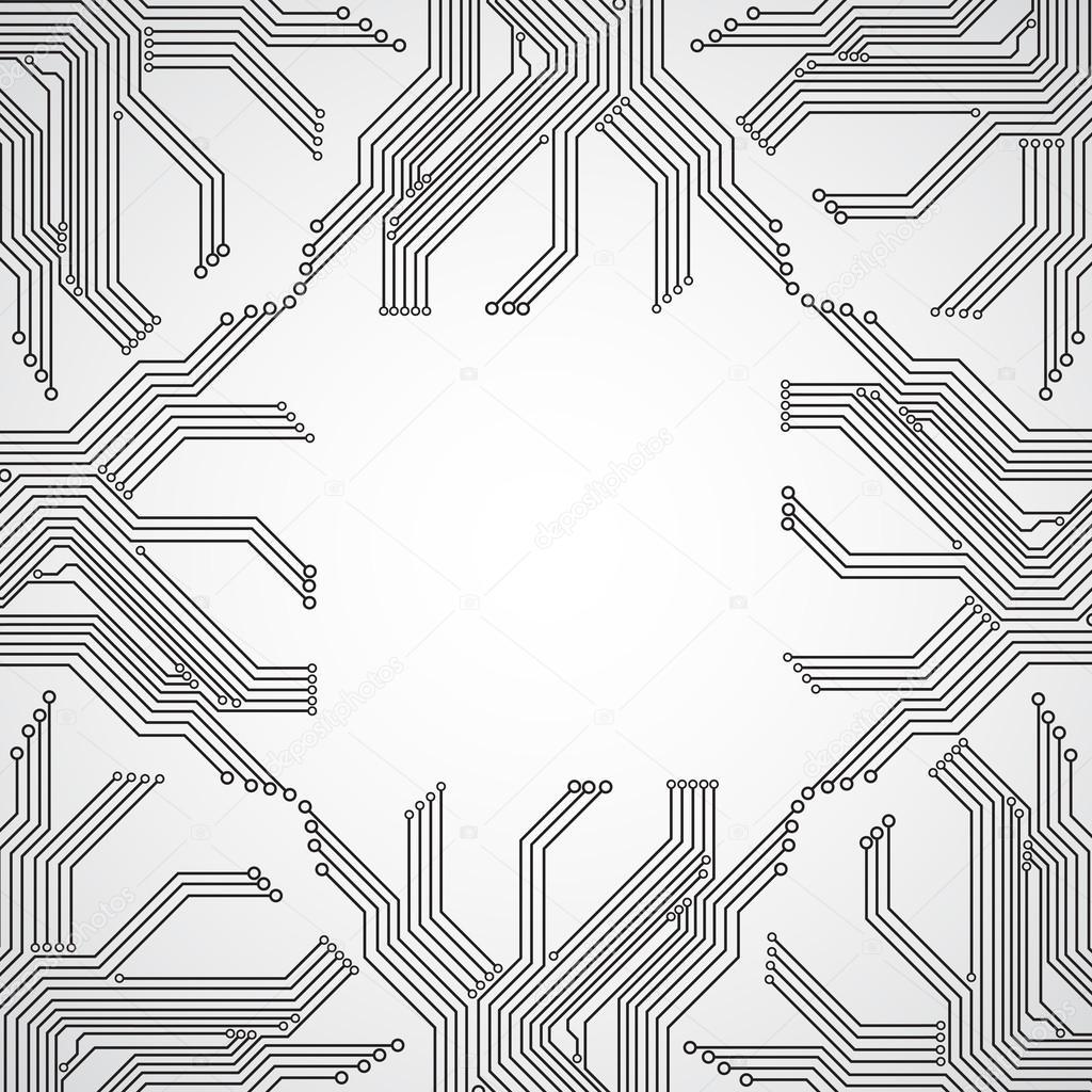 Circuit board background — Stock Vector © ecrow #22280919