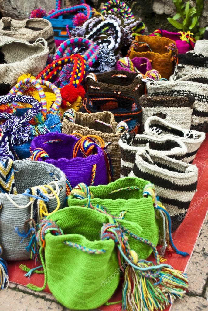 Mode - häkeln-Handtaschen — Stockfoto © adfoto #43179253