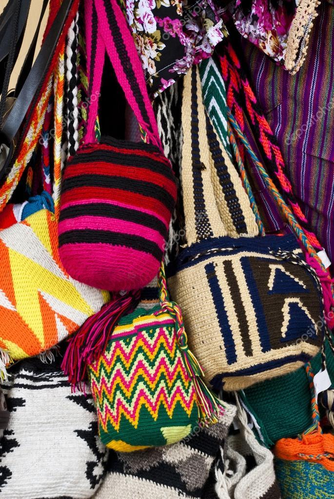 Mode - häkeln-Handtaschen — Stockfoto © adfoto #43179377