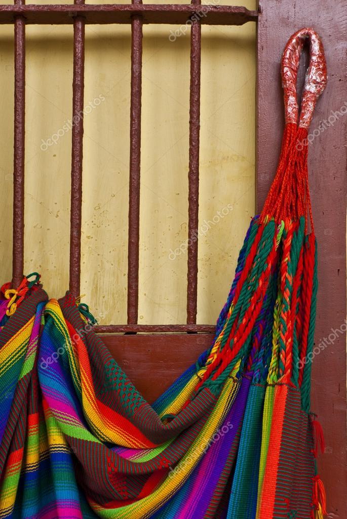 Hangmat Zuid Amerika.Zuid Amerika Maya Hangmat Stockfoto C Adfoto 43179517
