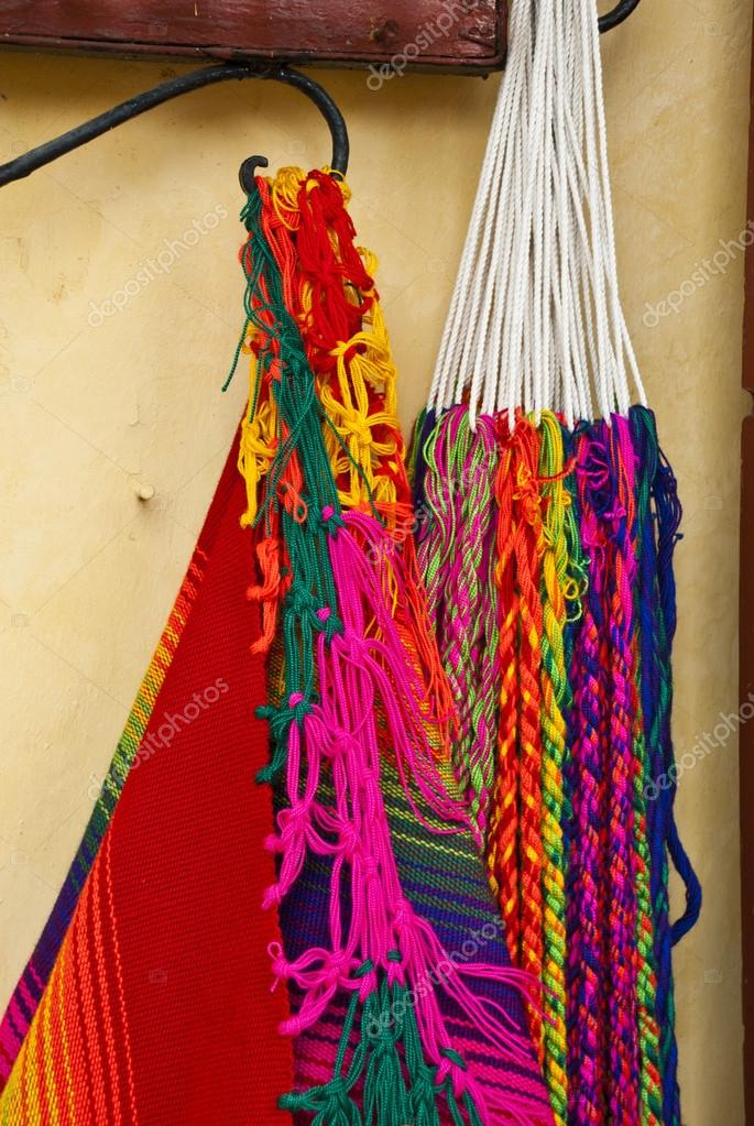 Hangmat Zuid Amerika.Zuid Amerika Maya Hangmat Stockfoto C Adfoto 43179757