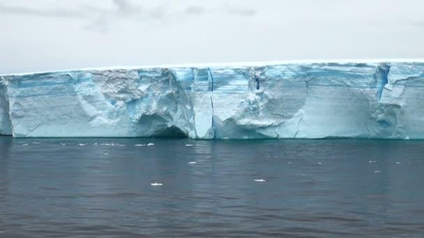 antarktis - antarktische Halbinsel - tabellarischer Eisberg in der Meerenge von Bransfield