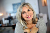 Photo Smiling mature woman