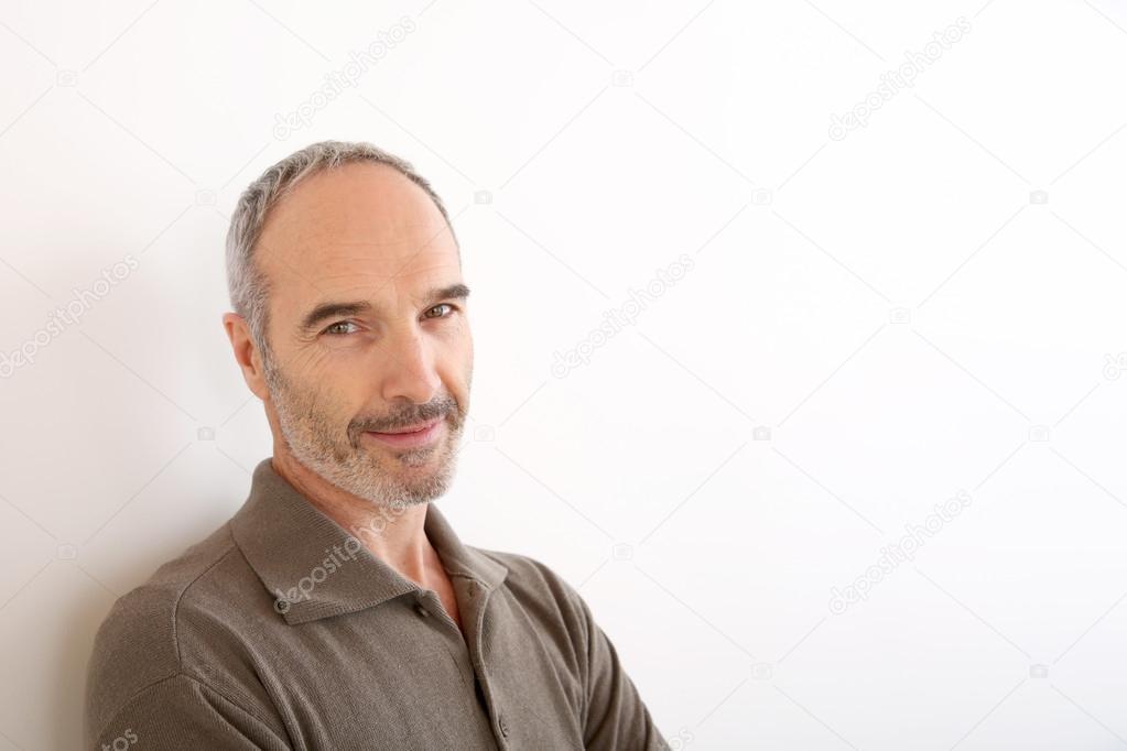 50-jaar-oude man — Stockfoto © Goodluz #36649177