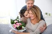 rodiny slaví den matek