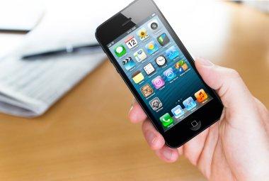 Using Apple iphone 5
