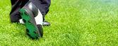 Fotografie Sohle des Golfer-Schuh