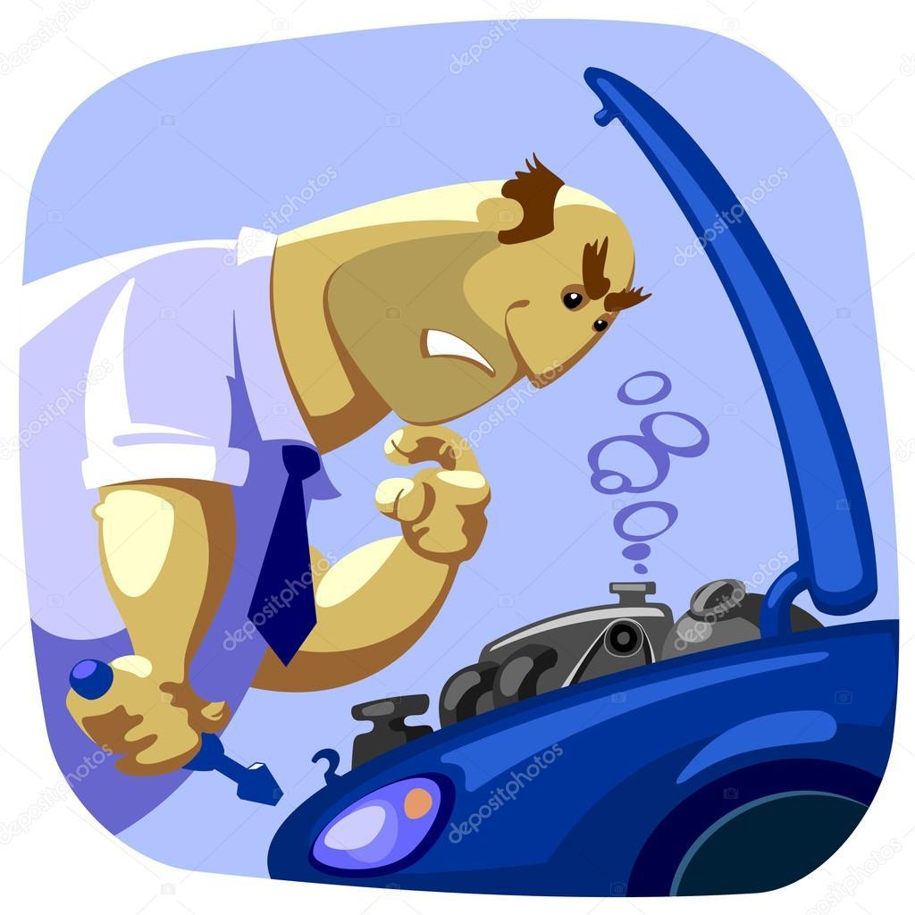 autounfall — Stockvektor © Erkovich #21719709