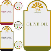 Fotografia etichetta di olio di oliva