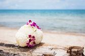 Fotografie Bouquet on a beach