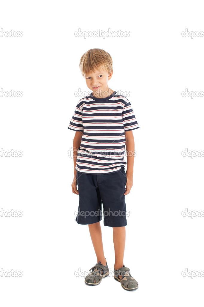 Картинки мальчика в полный рост