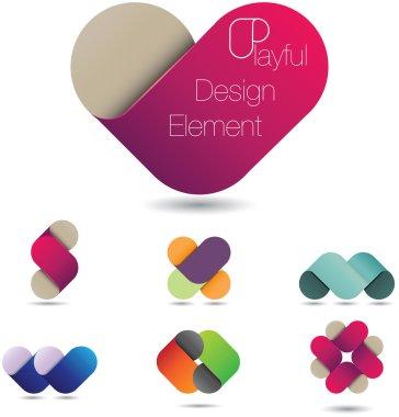 Playful design element