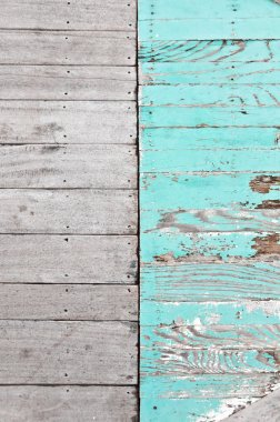 Peeled wooden texture