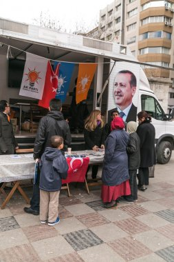 Local promotion organization of AKP for 2014 local elections in Turkey