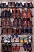 Photo Shoes shelf