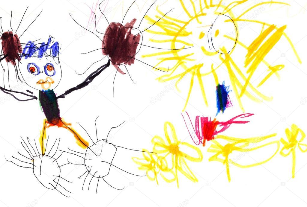 Znalezione obrazy dla zapytania смешные детские рисунки