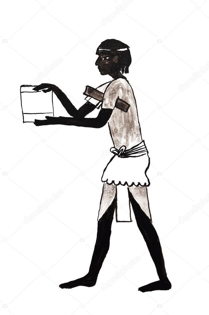 古代エジプトの役人が若い — ス...