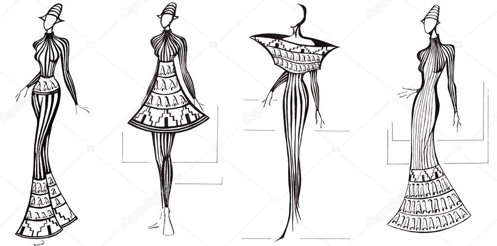jurken ontwerpen