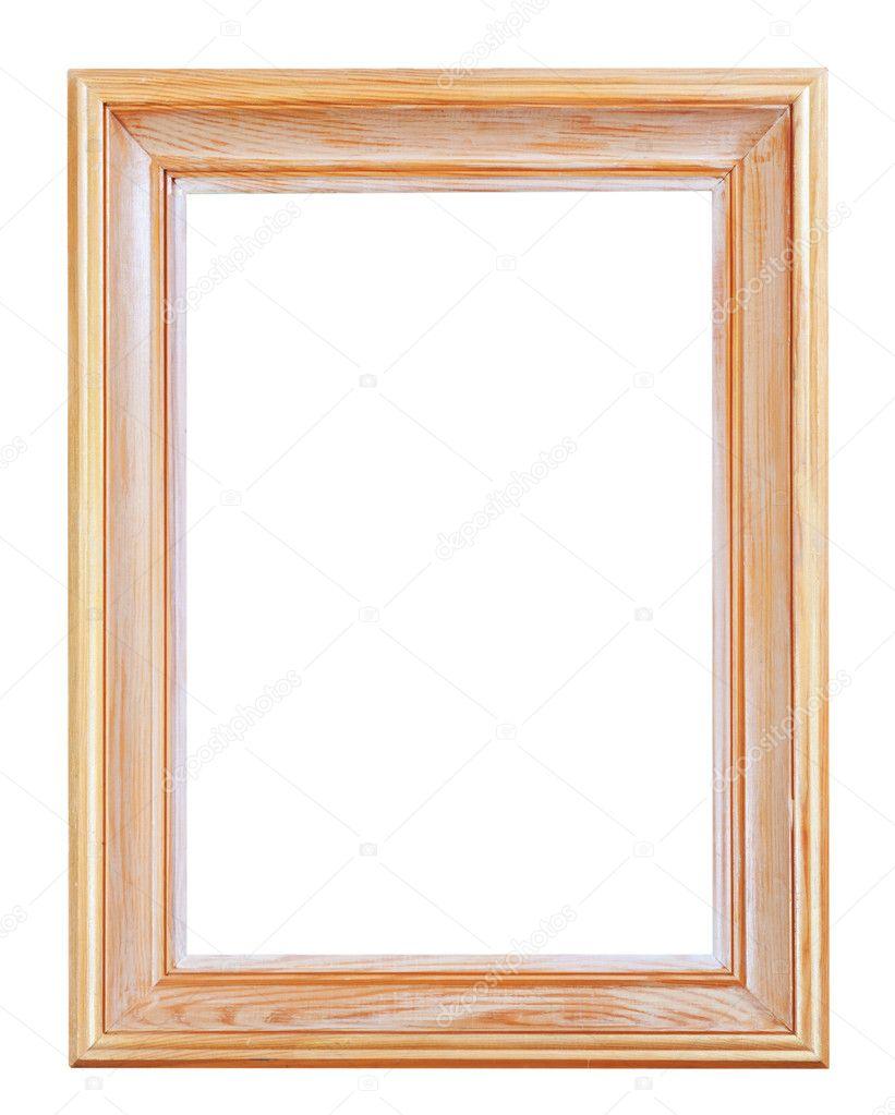 große klassische Holz-Bilderrahmen — Stockfoto © vvoennyy #29686417