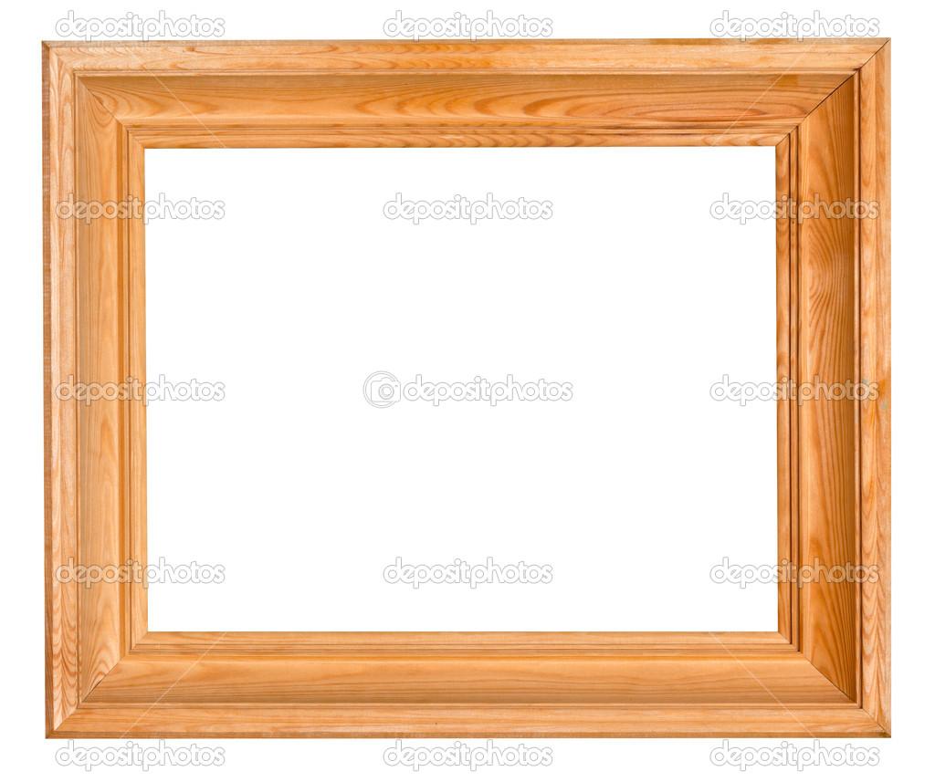 marco de madera ancho — Fotos de Stock © vvoennyy #32914811
