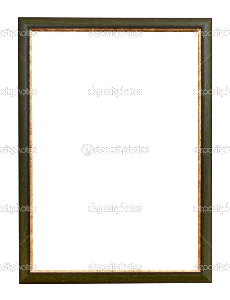 verde y oro marco vertical plana — Foto de stock © vvoennyy #33151201