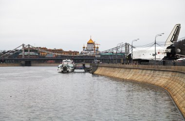 Pushkinskaya (Pushkin) embankment of Moscow River
