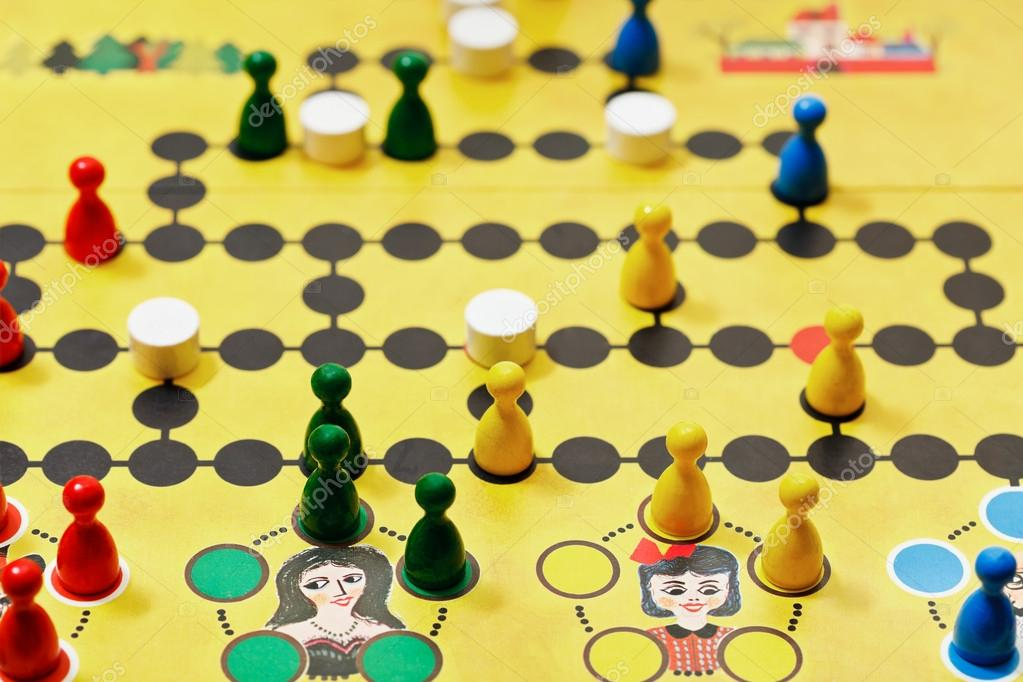 Malefiz - family board game close up