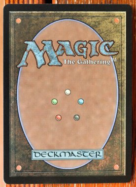 Magic The Gatherings card back typical design