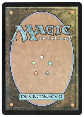 Magic The Gatherings card back traditional design