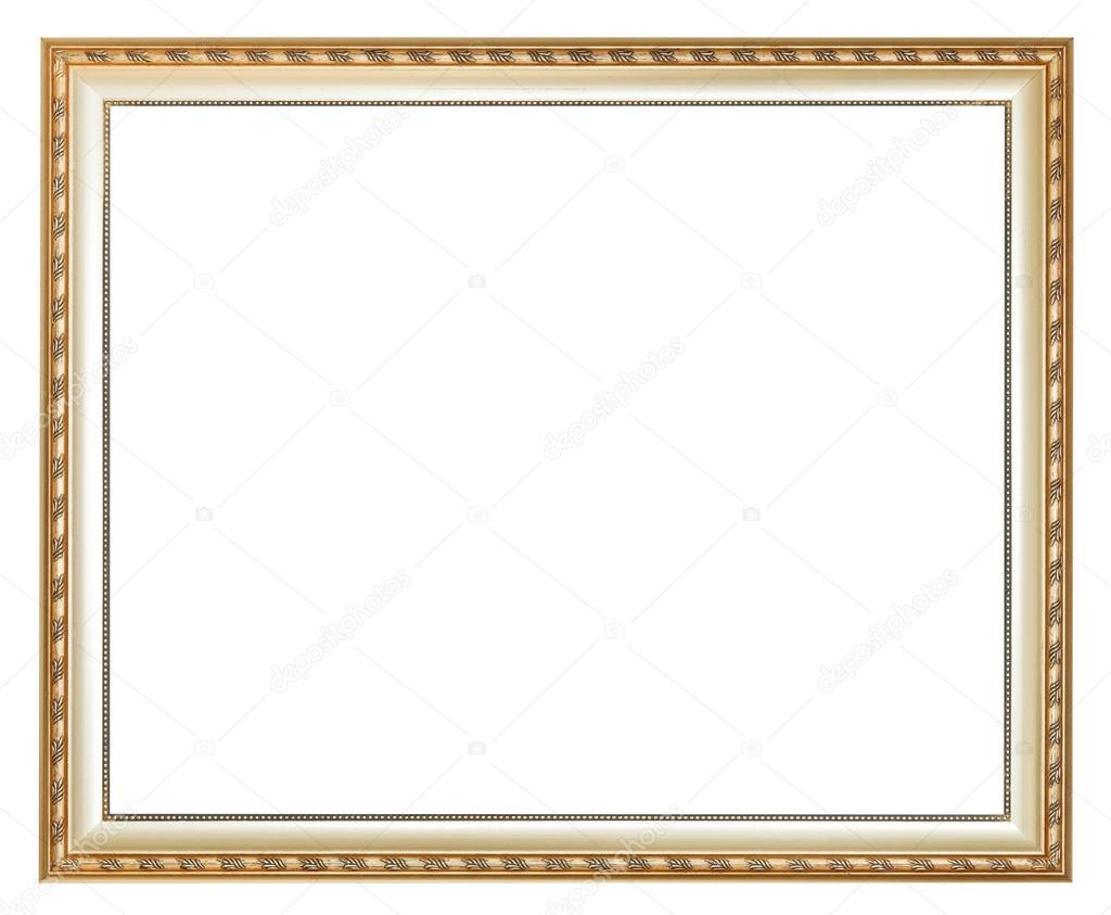 Antike Silber klassische Holz Bilderrahmen — Stockfoto © vvoennyy ...