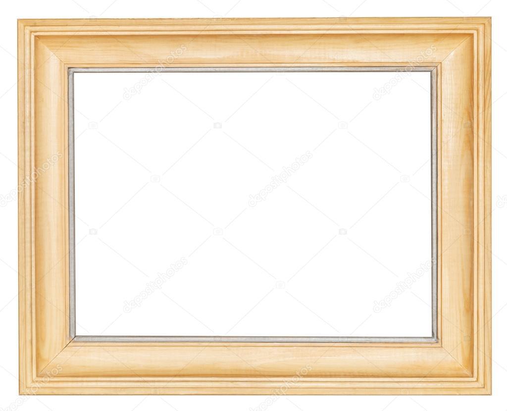 marco ancho de madera simple — Foto de stock © vvoennyy #44721529