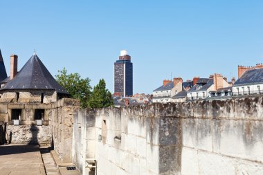 View of Brittany Tower from Castle in Nantes