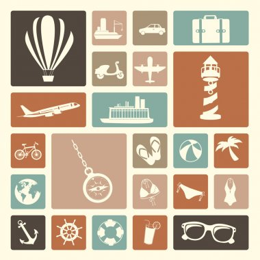 travels icons