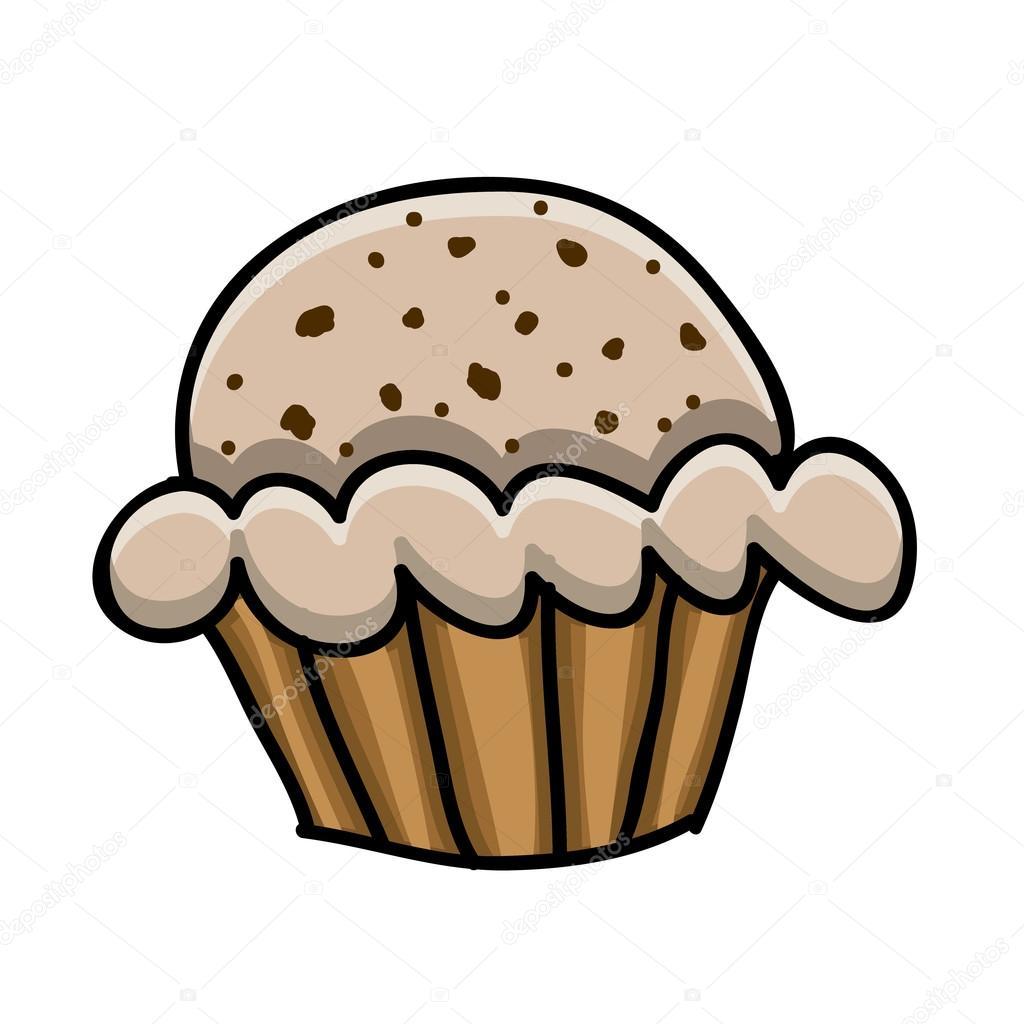 Cup Cake Kresba Stock Vektor C Grgroupstock 33202219