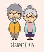 Fotografie Grand parents design