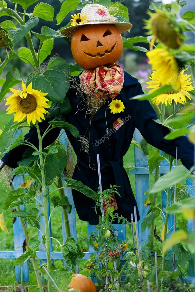 Scarecrow in the garden