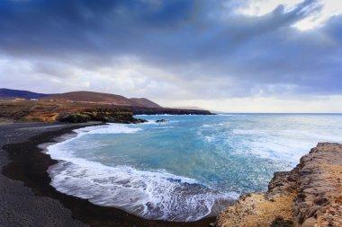 Ajuy Beach in Fuerteventura, Canary Islands, Spain