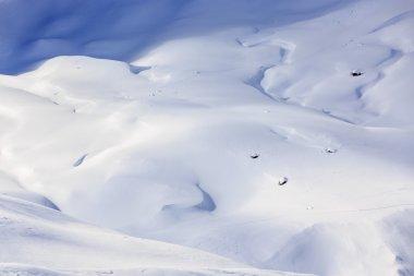 Winter mountains,  Italian Alps