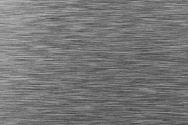 Brushed stainless steel background