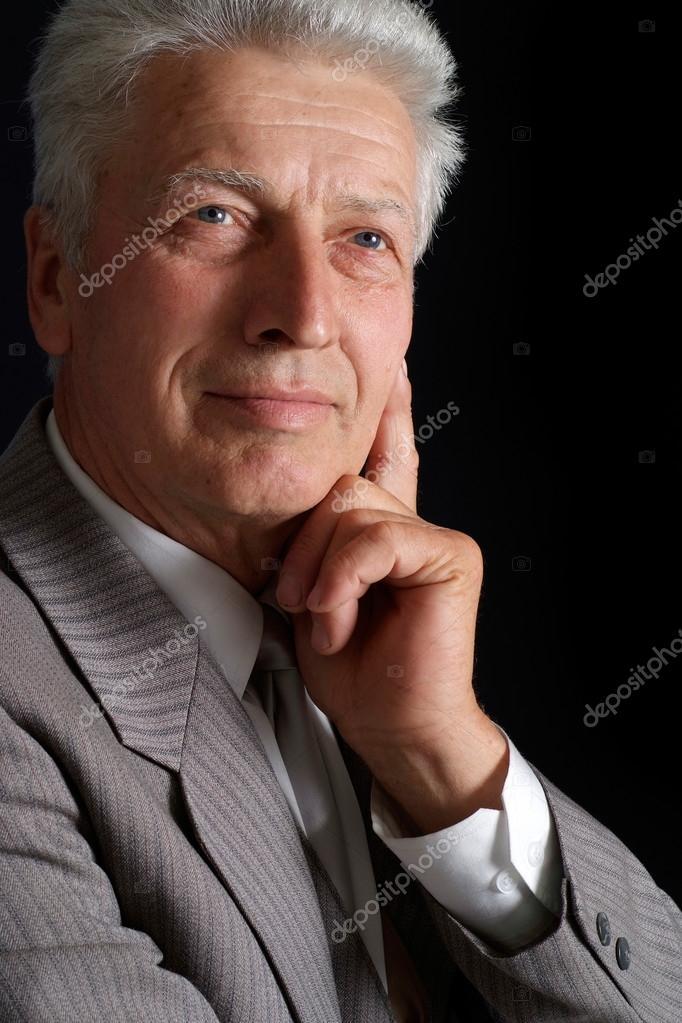 Handsome old man in suit stock photo aletia 12840907 handsome old man in suit stock photo publicscrutiny Images