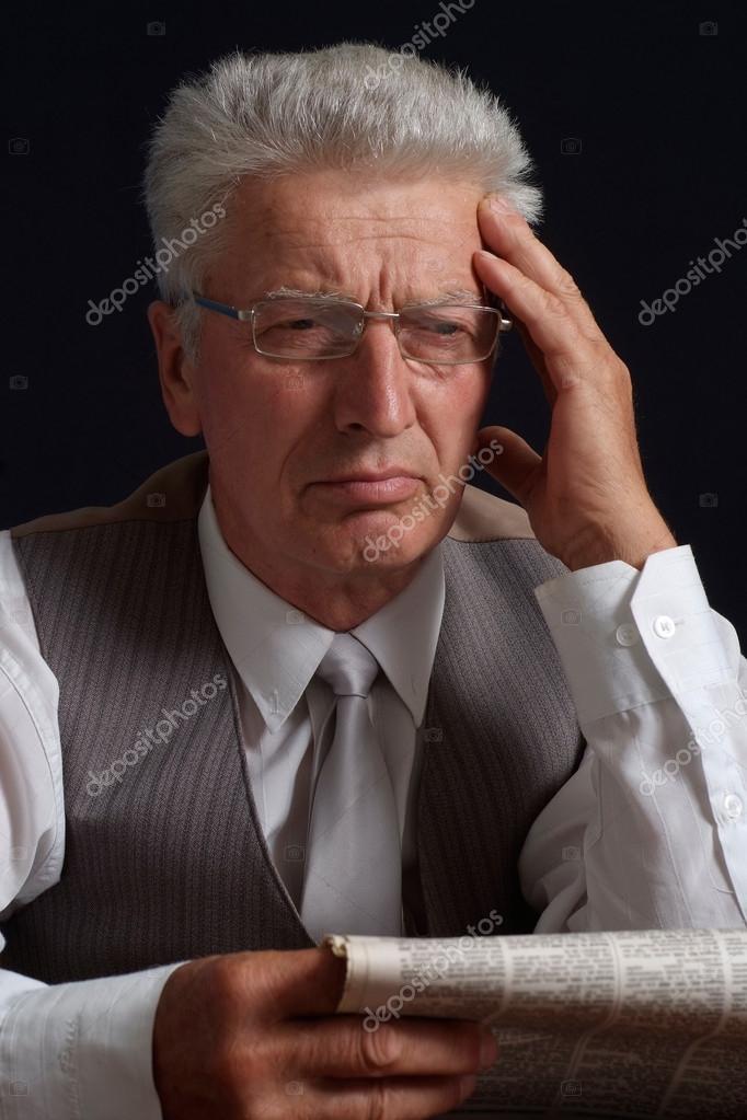 Upset old man in suit stock photo aletia 12840943 upset old man in suit stock photo publicscrutiny Images