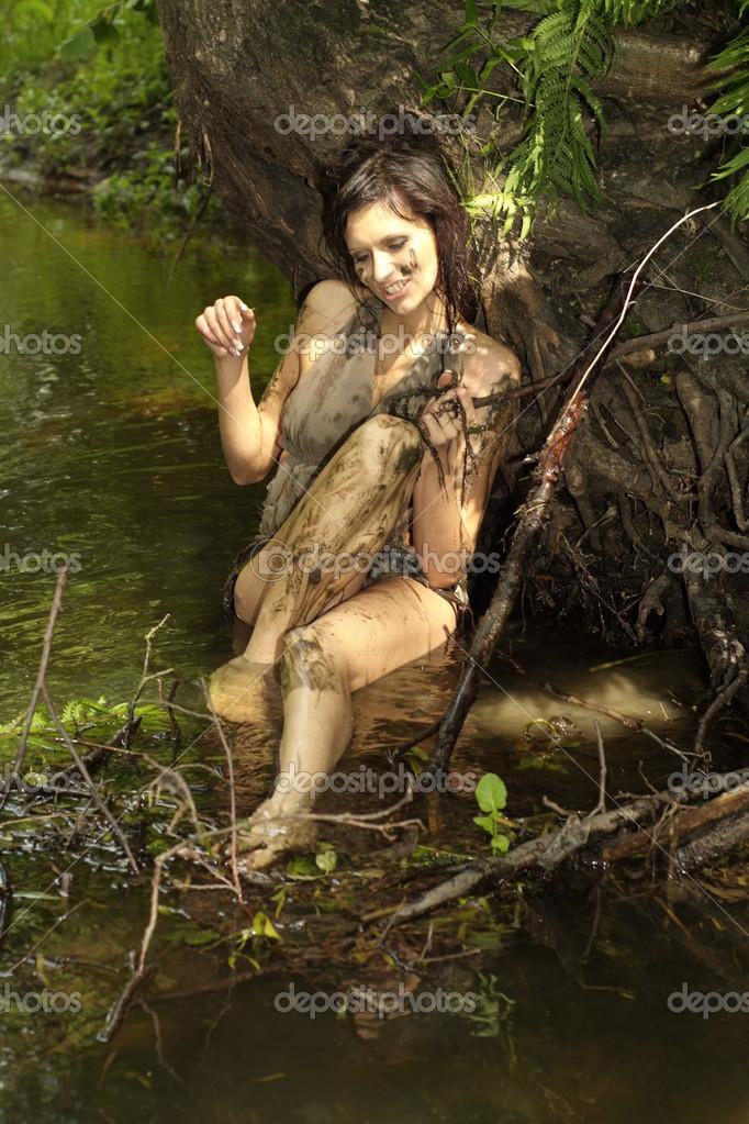 girl in loincloth stock - photo #9