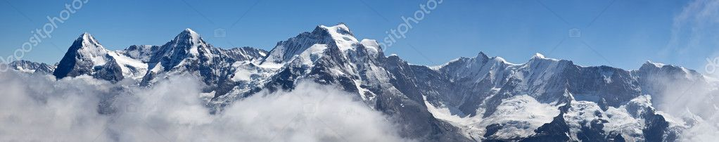 Panorama from Schilthorn